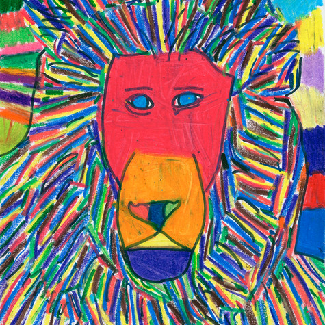 Leo the Lion - SOLD Available in Print
