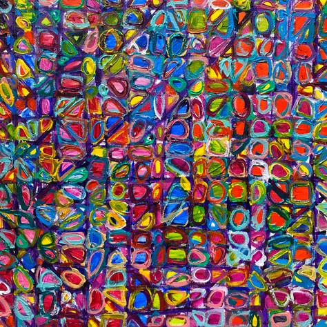 """""""Color Grid"""" SOLD"""