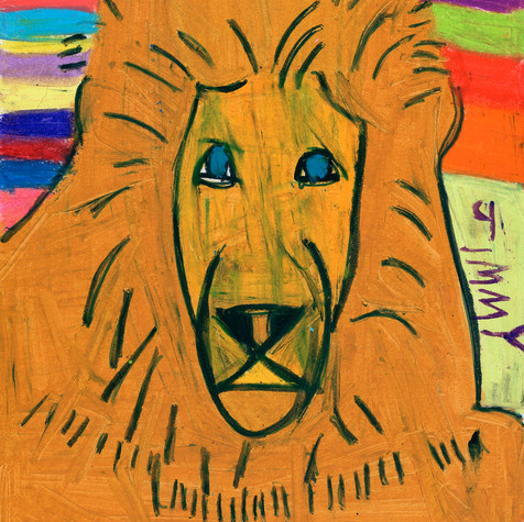 Leo in Orange - Available