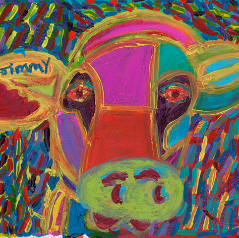 The Cow - SOLD Available in Pirnt