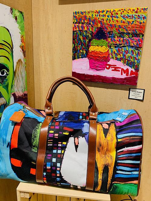 Jimmy Reagan Minnesota Canvas Travel Bag - Two Styles