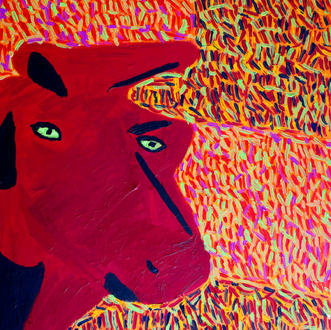 The Bull - SOLD Available in Print