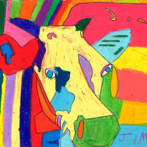 Sacred Cow - SOLD Available in Print