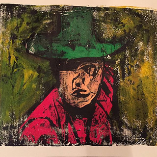 """""""Cowboy"""" SOLD Available in Print"""