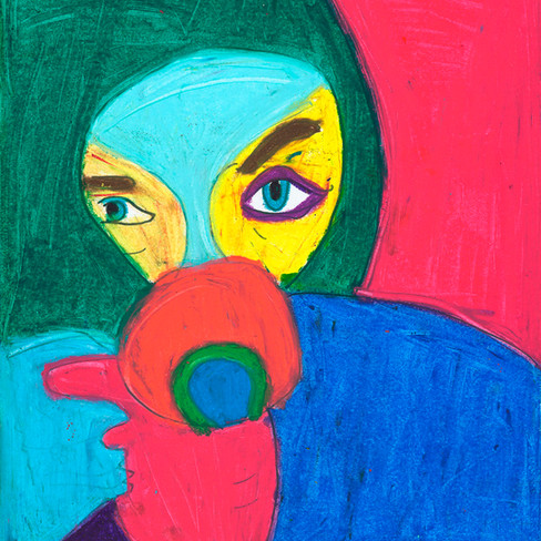 """""""Thea with Cup"""" Original Available"""