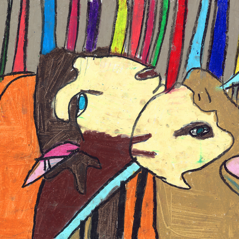 """State Fair Sheep"" Framed"