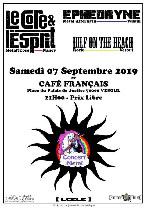 EPHEDRYNE au Café Français de Vesoul