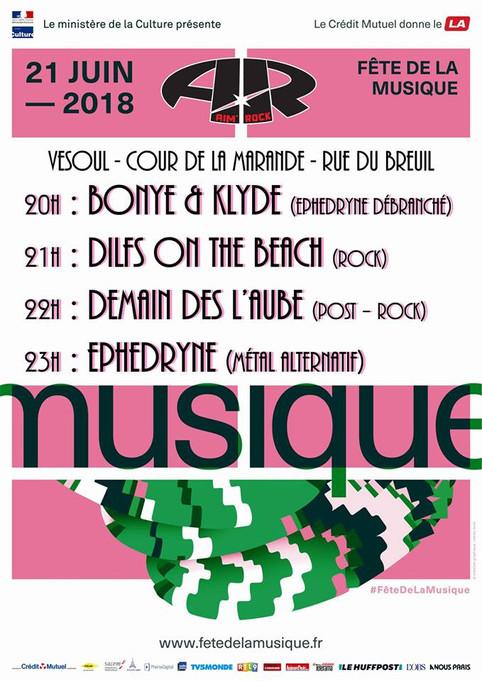 Ephedryne à la fête de la musique de Vesoul...