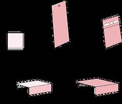 Studio Kiki kartonne doosjes fomaen geschenkdoosjes geboortdoosjes verpakkigen kubusdoojes hoge doosjes stokdoosjes schuifdoosjes