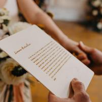 Tekstbord gegraveerd - gelofte