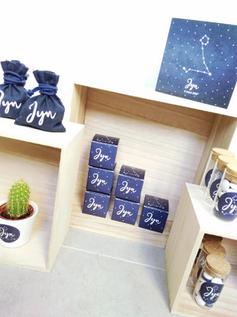 Studio Kiki Geboorte blauw sterrenbeeld