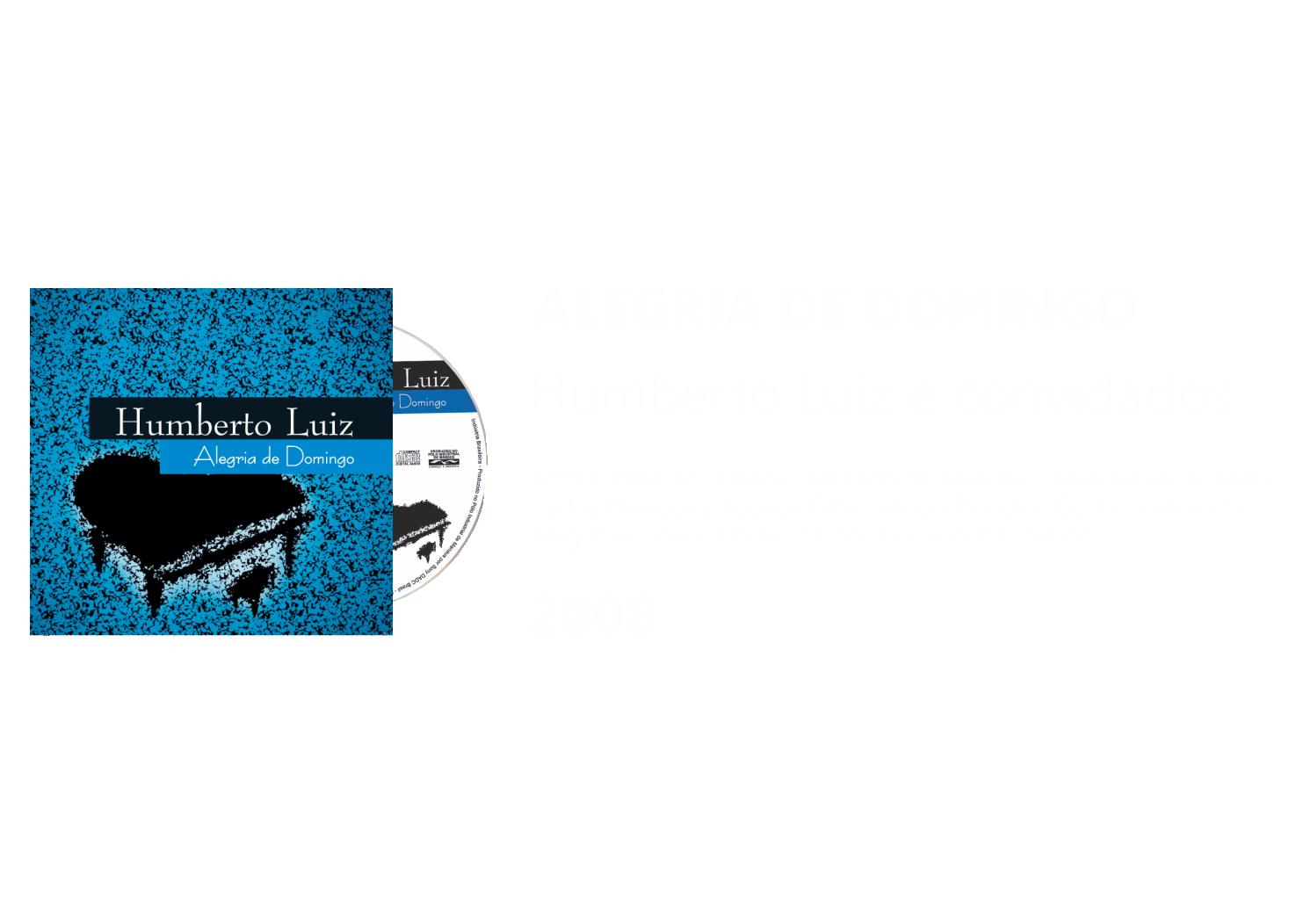CD- Alegria de Domingo