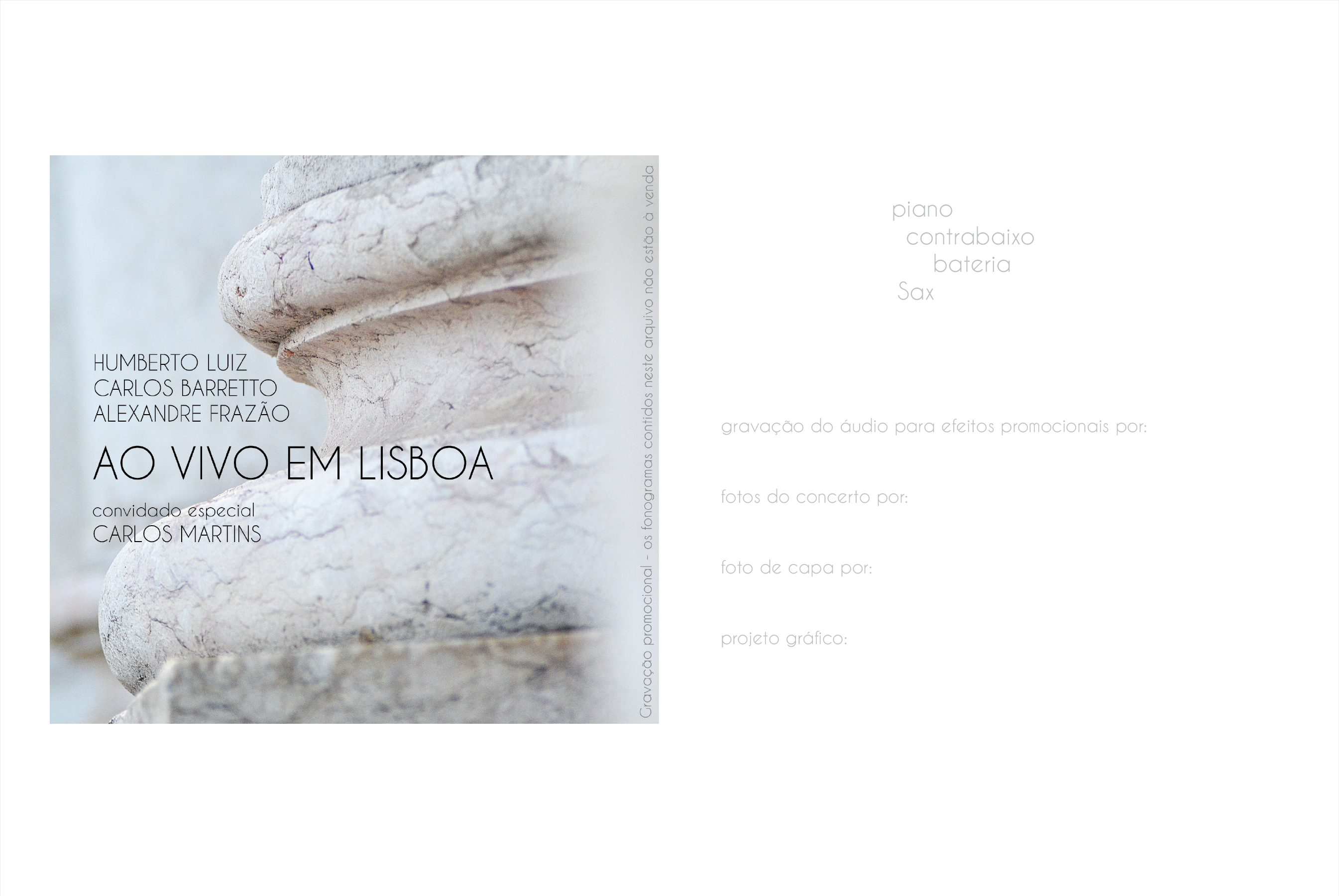 CD - Ao vivo em Lisboa
