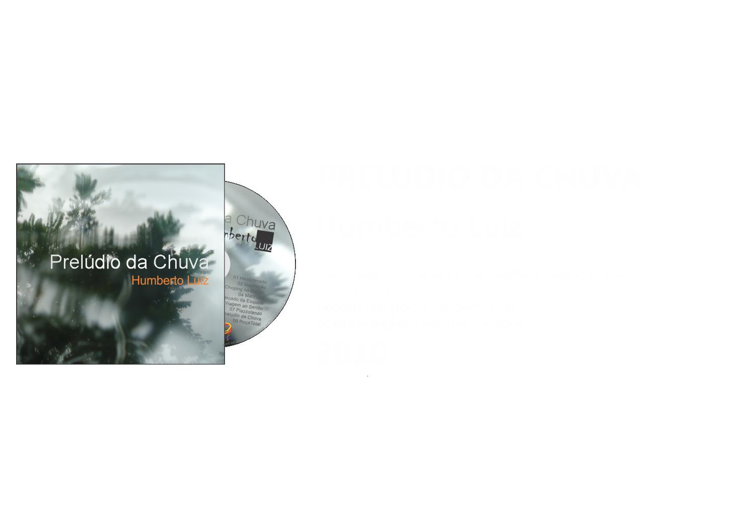 CD - Prelúdio da Chuva