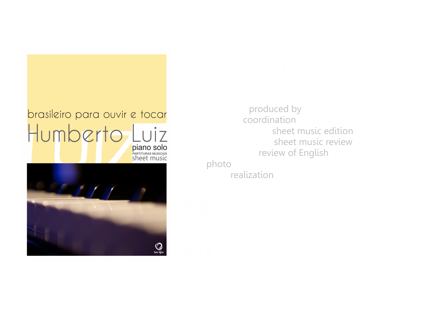 Livro -brasileiro para ouvir e tocar
