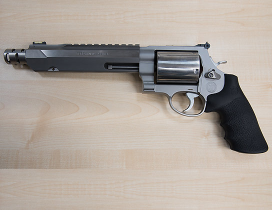 SMITH & WESSON 460XVR COMPENSATED HUNTER