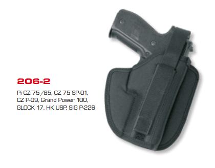 Moulded Belt Holster 206-2