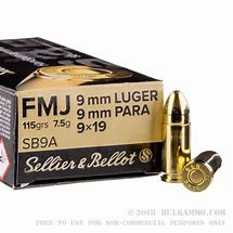 Sellier & Bellot 9mm para