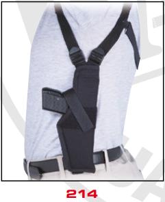 Vertical Shoulder Holster 214