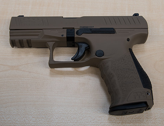 WALTHER PPQ M2 FDE 9MM PARA