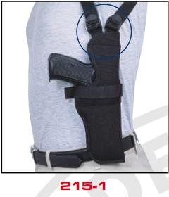 Vertical Shoulder Holster 215