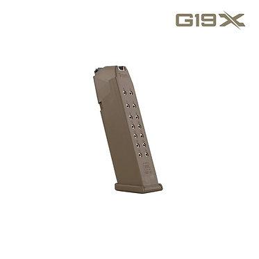 Magazin Glock 19X (coyote)