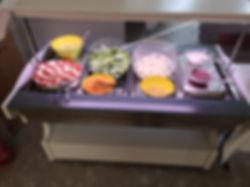 Salatbuffet nach Wunsch