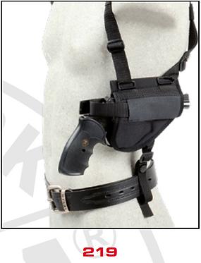 Shoulder Holsters Horizontal - Combined (shoulder and belt) 219