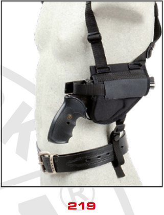 Shoulder Holsters Horizontal - Combined (shoulder and belt) 219