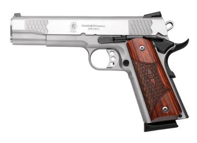 "S&W Pistole SW1911, Kal. .45ACP 5"" E-Series"