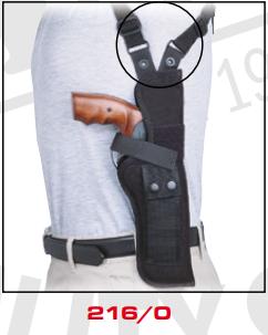 Vertical Shoulder Holster 216