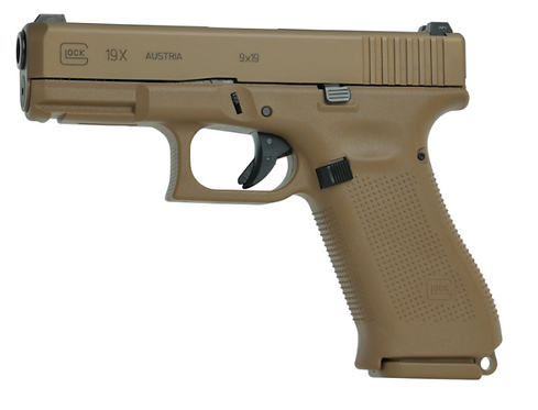 GLOCK 19X COYOTE 9MM LUGER