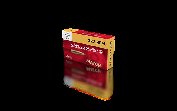.222 REM. HPBT - 52GRS