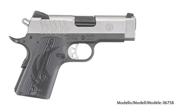 Ruger SR1911® Officer-Style