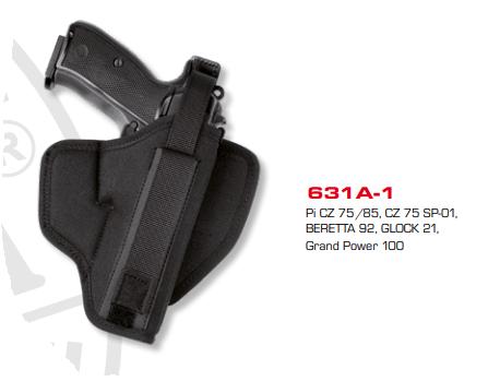 Moulded Belt Holster 631A-1