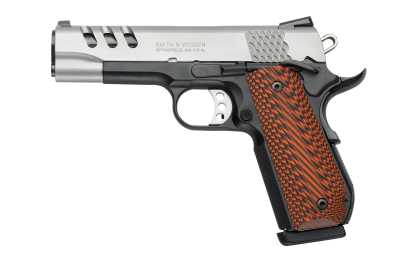 "S&W Pistole SW1911, Kal. .45ACP 4.25"" Perf.Center"