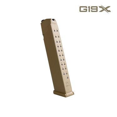 Magazin Glock 9mm 24 Schuss (Coyote)