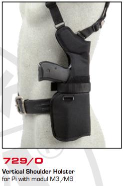 Thumb-Break Shoulder Holster 729/O