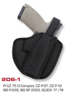 Moulded Belt Holster 206-1