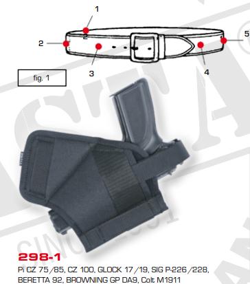 Multivariable Belt Holster 298-1