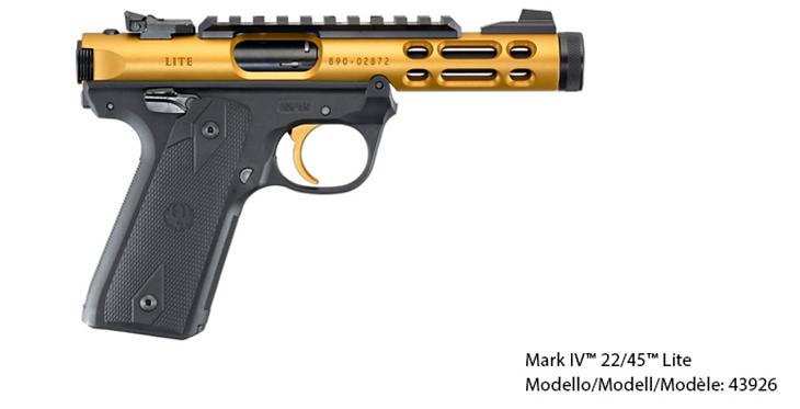 Ruger Mark IV™ 22/45™ Lite