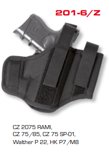 Ambidextrous Belt Holsters Two Loops With Integrated Magazine Pouch 201-6/Z