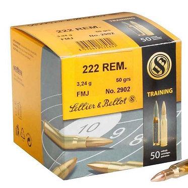 Bulk .222 REM. FMJ - 50GRS