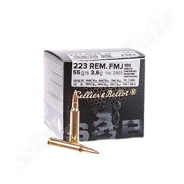 Bulk .223 REM. FMJ - 55GRS