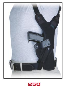 Thumb-Break Shoulder Holster 250
