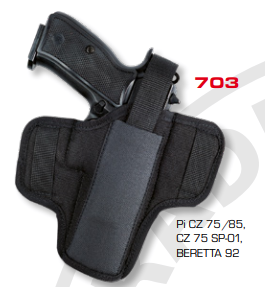 Ambidextrous Belt Holsters Two Loops 703