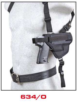 Horizontal Shoulder Holster 634