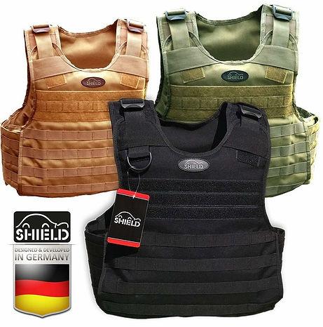 Shield ,ballistische Platten