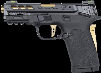 S&W Pistole M&P380Shield EZ Ported PC,Kal. .380ACP