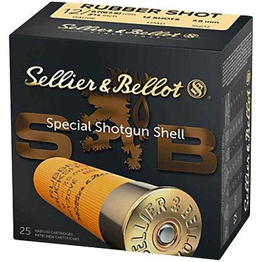 12/67,5 RUBBER SHOTS 12PCS